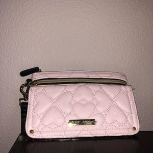 Betsey Johnson wristlet/clutch